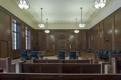 US courtroom - Carol M. Highsmith [Public domain], via Wikimedia Commons