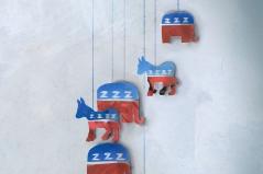 Sleepy politics, by Grace Alexandra Russell (http://www.gracerussell.co.uk/)